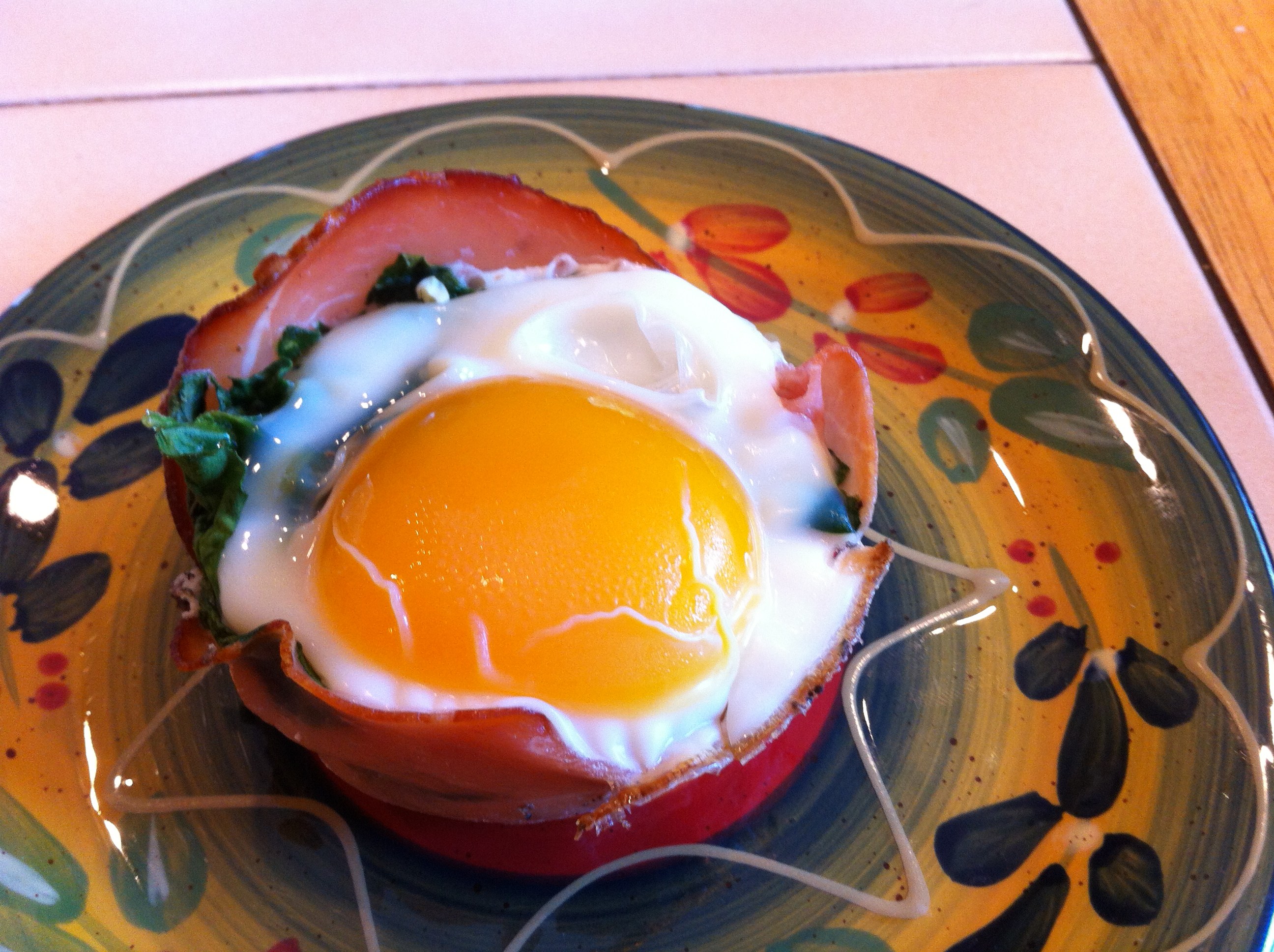 Prosciutto and Spinach Egg Cups | Intrinsic Health