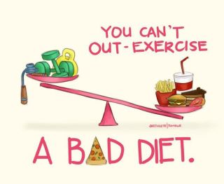 out exercise bad diet